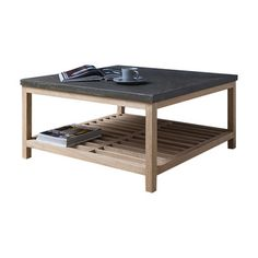 Gallery Brooklyn Coffee Table with Magazine Rack