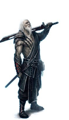Ancient Warrior by ~2buiArt on deviantART [Alozeus is the oldest warrior alive. He is the secondary leader of the Delt, under Sazii. He is Percïa's grandfather. He is calm, hateful, spiteful, destructive, deceitful, murderous, tyrannical, and selfish.]