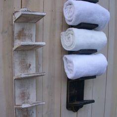 Decorative Towel Racks For Bathrooms