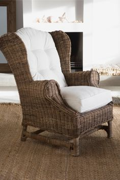 Nicolas Wing Chair  Sooo Comfy And Inviting
