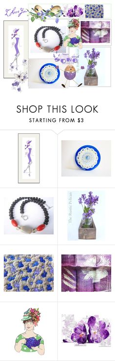 Happy Spring Song by anna-recycle on Polyvore featuring WALL, Rustico, Design Art, modern, rustic and vintage
