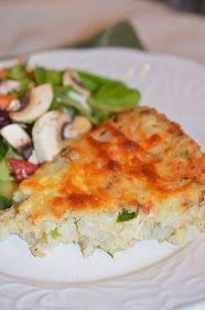 Lili popotte: Pâté au saumon sans croûte French Food, Ketogenic Diet, Food To Make, Eggs, Fish, Breakfast, French Recipes, Quiches, Diets