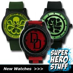 They may not have as many gadgets as the Batman utility belt, but they are still awesome