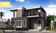 "This MAK Builders ""TOPAZ"" Model has an elegant modern design with a modern Master's room with private bathroom, another two bedrooms with private bathrooms, a Family Area on the second floor, a Guest Room at the ground floor, a custom built kitchen and also a living room. You really need to be aware that the house floor plans will have the ability to represent an actual impression of your home in the event the house is a basic house or even a luxury home."