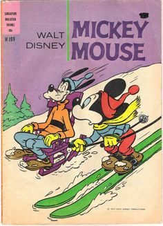 Australia - Mickey Mouse (English). Scanned image of comic book (© Disney) cover.