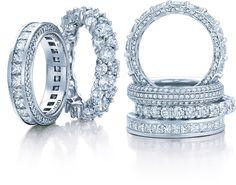 Diamond wedding rings...