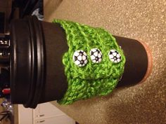 Soccer (in Sounders rave green) coffee sweater!