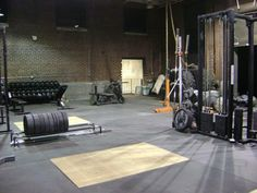 Very sweet and spacious Crossfit box