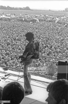 Jimi Hendrix plays his last concert at the Love & Peace Festival in Fehmarn, Germany, on Sept. Rock & Pop, Rock N Roll, Blues, Jimi Hendrix Experience, Psychedelic Music, Rock Concert, Janis Joplin, Rock Legends, Music Guitar