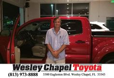 https://flic.kr/p/FmYi8h   Happy Anniversary to Kurt on your #Toyota #Tacoma from Nate Pastrana at Wesley Chapel Toyota!   deliverymaxx.com/DealerReviews.aspx?DealerCode=NHPF