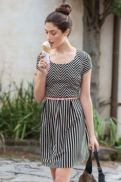 """Nail Parisian Street Style With These Looks For Spring #refinery29  http://www.refinery29.com/macys-maison-jules#slide-6  All clothing by Maison Jules. Printed Dress, $79.50. <img src=""""http://ad.doubleclick.net/ad/N8278.127806.REFINERY29.COM/B8010335.20;abr=!ie4;abr=!ie5;sz=1x1;ord=[timestamp]?"""" border=""""0"""" width=""""1"""" height=""""1""""..."""