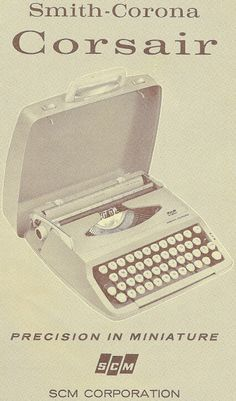 oz.Typewriter: Made in England (and the US): SCM Portable Typewriters of the 1960s