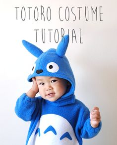 Hello!!  I'm here with a tutorial today that I'm really excited about!  3 years ago, I made a Totoro costume for Yuki and it was a huge hit with Totoro fans around the world.  Since then I've been ...