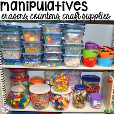 to set up your math center in your preschool, pre-k, and kindergarten classroom.How to set up your math center in your preschool, pre-k, and kindergarten classroom. Preschool Classroom Setup, Preschool Rooms, Preschool Centers, Classroom Setting, Preschool Math, Classroom Organization, Math Centers, Classroom Ideas, Math Activities