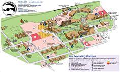 Shawnee State University Campus Map