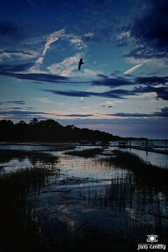 After sunset, Hilton Head Island, South Carolina