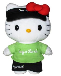 Hello Kitty now at Yogurtland