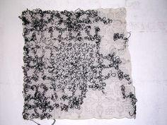 Bordado sb lenço - Vera Pamplona