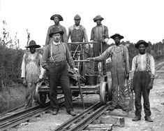 Gainesville Midland track maintenance crew, C 1890