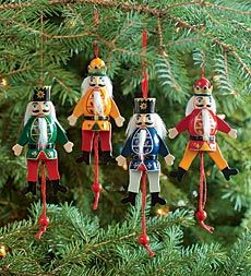 Set Of 4 Wooden Animated Nutcracker Ornaments, Plow & Hearth Nutcracker Ornaments, Nutcracker Sweet, Nutcracker Christmas, Diy Christmas Ornaments, Christmas Decorations, Nutcracker Crafts, Glass Ornaments, Holiday Decor, Christmas Things To Do