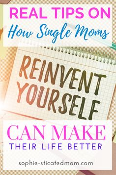 I will always tell people that becoming a single mom was my hidden blessing because it made me want to do better and it drove me to radically change my life. Here is how to reinvent yourself as a single mom and get the life you feel you deserve. Becoming A Single Mom, Love Journal, Single And Happy, Love Challenge, Body Love, Self Love Quotes, Care Quotes, Happy Family, Mom Blogs