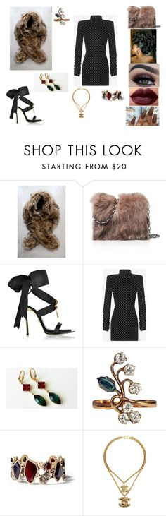 """""""&"""" by ohbabyimrachel ❤ liked on Polyvore featuring LULUS, Michael Kors, Dsquared2, Yves Saint Laurent, Ted Gibson, Chloe + Isabel and Chanel"""