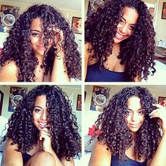 Can a miracle happen where my curly hair actually looks like this please?
