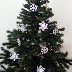 #Copo de #Nieve #SnowFlake #Navidad #Decoración #Tree #árbol — Cutefy.com