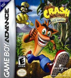 Emularoms: Crash Bandicoot XS ( BR ) [ GBA ]