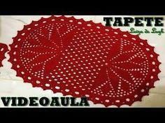 YouTube Doily Rug, Lace Doilies, Crochet Doilies, Crochet World, Crochet Home, Crochet Table Mat, Crochet Decoration, Crochet Videos, Crochet For Beginners
