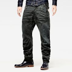 G-Star RAW - Arc 3d Loose Tapered Braces  - Men - Colour jeans