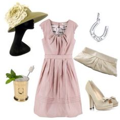 Kentucky Derby party attire.