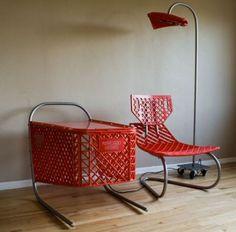 Repurposed junk makes for some pretty cool furniture