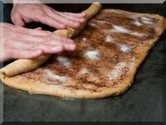 How to Make Cinnamon Rolls (Anadama Bread Recipe) Greek Sweets, Greek Desserts, Greek Recipes, Anadama Bread, Food Network Recipes, Cooking Recipes, The Kitchen Food Network, Pavlova, Sweet Bread