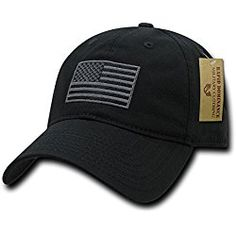Black Usa Us American Flag Patch United States America Polo Baseball Hat 29838956de2