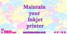 A short blog article on ways to help maintaining your printer.
