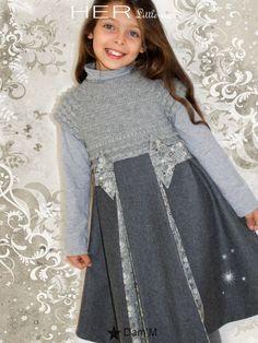 HER Little world, Patron de couture pour vêtement enfant, Robe Mélodieuse