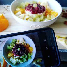 Czary w kuchni- prosto, smacznie, spektakularnie.: Kolorowy deser jaglany z owocami... Acai Bowl, Breakfast, Food, Acai Berry Bowl, Morning Coffee, Essen, Meals, Yemek, Eten