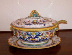 Deruta Italian Pottery Soup Tureen