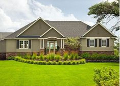 exterior house colors | Modern Craftsman House Colors