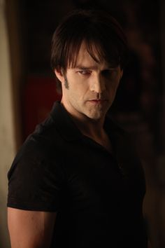 True Blood.  Bill Compton.  I used to be Team Bill in the beginning, but I'm not very fond of the Bill that's in the TV Series.  He's a lot different from the Bill in the books.