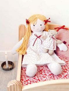 Bedtime Doll Pattern