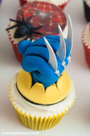 Image result for marvel superhero cupcakes