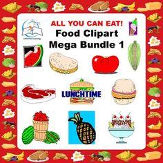 Food Clip Art Mega Bundle 1