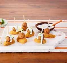 Spice up your game day routine w/ a 5-ingredient recipe for Jalapeño Pepper & Meatball Bites.