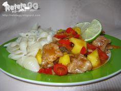 Pork, Sweet, Ethnic Recipes, Kale Stir Fry, Candy, Pigs