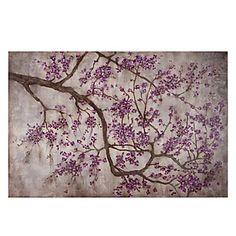 Z Gallerie - Aubergine Petals