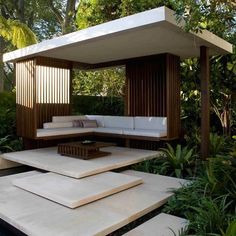 Modern Garden - Bali Inspired  ~ Great pin! For Oahu architectural design visit http://ownerbuiltdesign.com