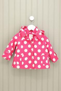 Children's Place 6-12M Pink Raincoat
