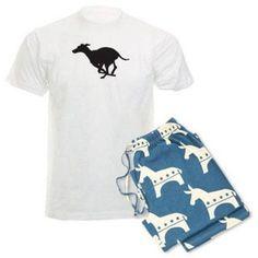 Cafepress Personalized Grey Hound Men's Light Pajamas, Size: Small